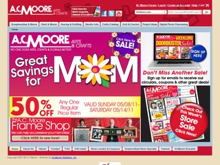 View all A.C. Moore printable coupons
