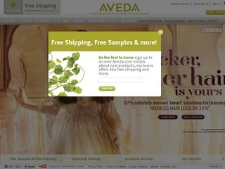 View all Aveda printable coupons