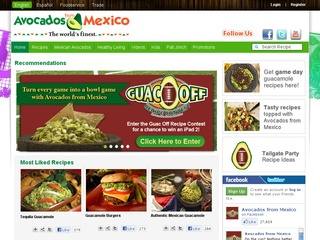 View all Avocados from Mexico printable coupons