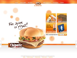View all A&W Restaurants printable coupons