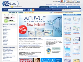 View all AC Lens printable coupons