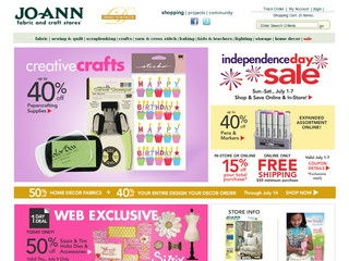Visit Joann Fabrics