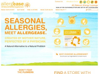 View all AllergEase printable coupons