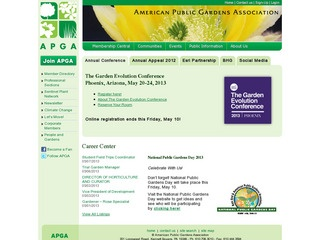 View all American Public Gardens Association printable coupons