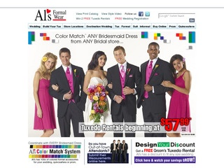 View all Al's Formal Wear printable coupons