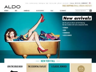 View all ALDO Shoes printable coupons