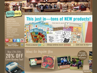 View all Archiver's printable coupons