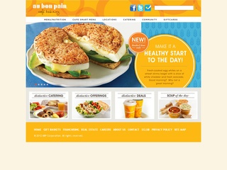View all Au Bon Pain printable coupons