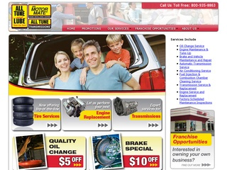 View all All Tune & Lube printable coupons