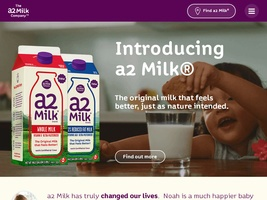View all a2 Milk printable coupons
