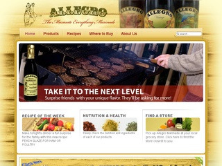 View all Allegro Marinade printable coupons
