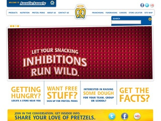 View all Auntie Anne's printable coupons
