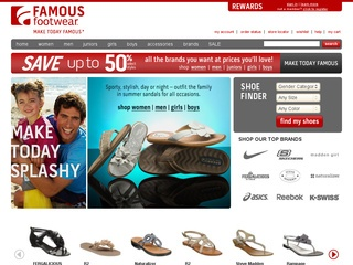 Visit Famous Footwear