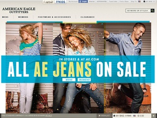 View all American Eagle printable coupons