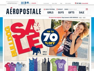 View all Aeropostale printable coupons