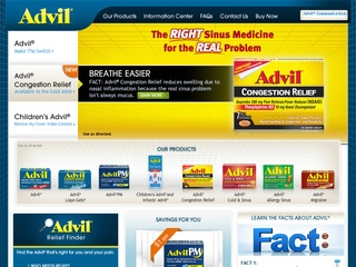 View all Advil printable coupons
