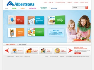 View all Albertsons printable coupons