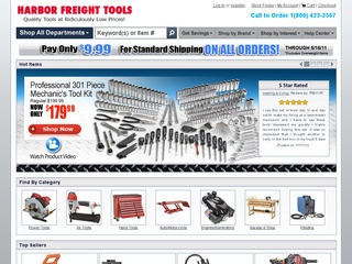 Visit Harbor Freight Tools